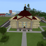 beeville minecraft courthouse