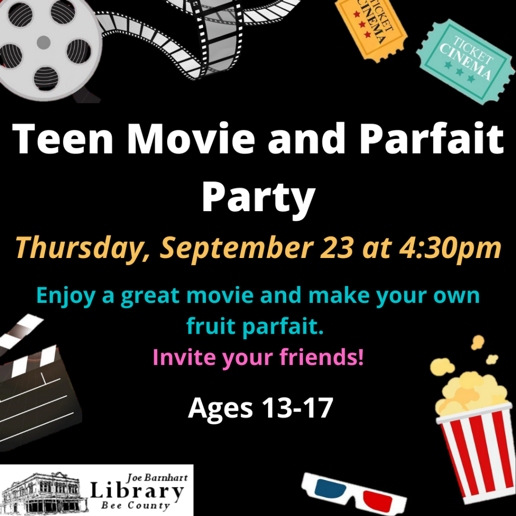 Teen Movie and Parfait Party